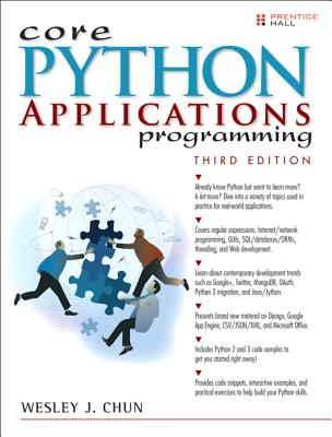 Core Python Applications Programming By Chun, Wesley